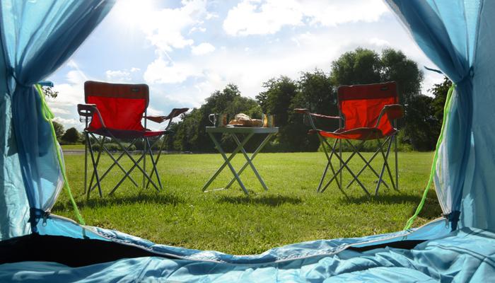 mobiliario de camping