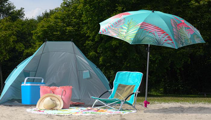 parasols wind screens